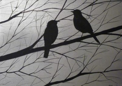 Birds silhouettes 1