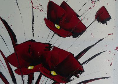 Modern flowers 8