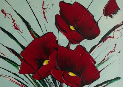 Modern flowers 9